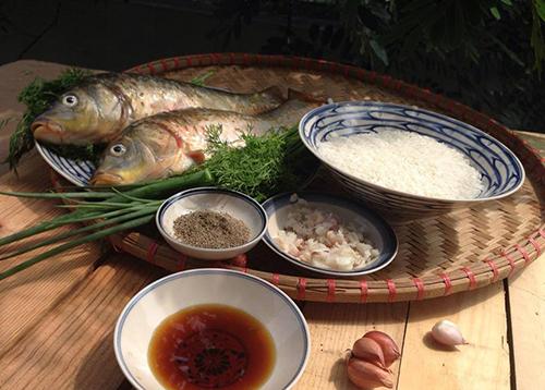 Cách nấu cháo cá chép cho bà bầu